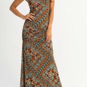 SKY Brand Clothng Kobie Maxi Dress--SMALL